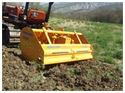 Selvatici 150.75 Series Tractor Spading Machines
