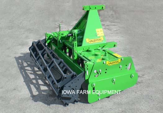 Valentini Tiger Series Tractor Pto Power Harrow Iowa