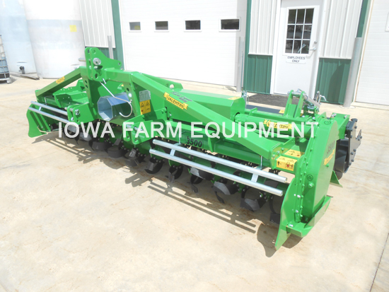 Valentini Rotary Tiller with Packer Roller